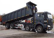 Самосвал FAW J6,  8х4,  35 тонн.